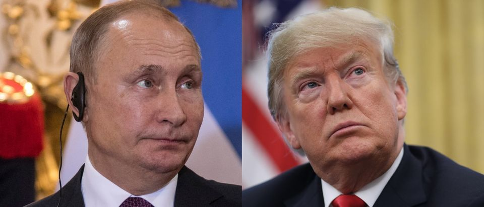 Russian President Vladimir Putin and U.S. President Donald Trump could meet in 2019. Ricardo Ceppi/Getty Images and Justin Sullivan/Getty Images