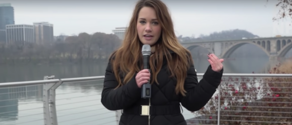 """After reading the lyrics of the Christmas song """"Santa Baby,"""" Daily Caller News Foundation decided to ask folks in Georgetown whether they considered it offensive enough to ban as well. (Youtube)"""