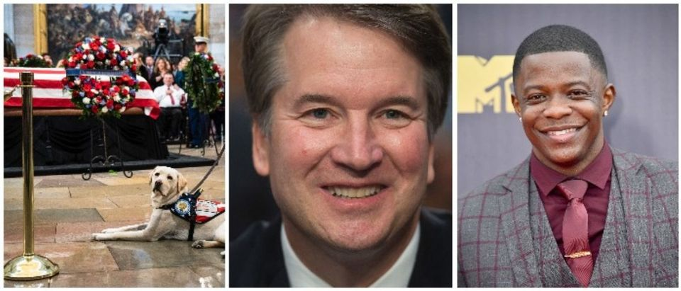 Sully, Brett Kavanaugh, and James Shaw Jr. (LEFT: Drew Angerer/Getty Images MIDDLE: SAUL LOEB/AFP/Getty Images RIGHT: Frazer Harrison/Getty Images)