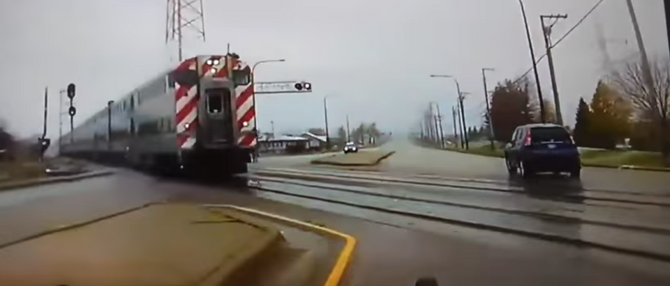 Train video camera