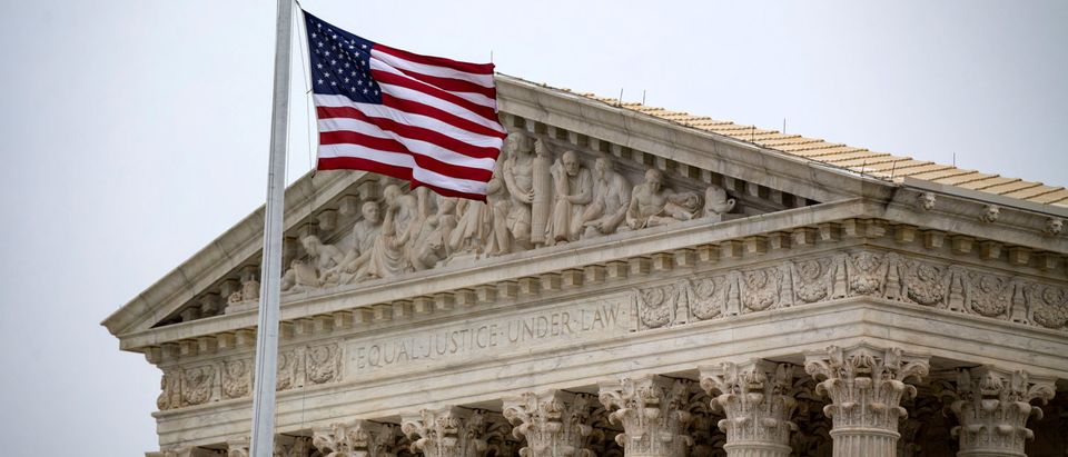 The U.S. Supreme Court building as seen on November 13, 2018. REUTERS/Al Drago