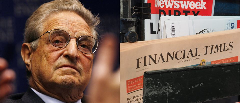 George Soros Named Financial Times' Person Of The Year/ Getty Images Collage