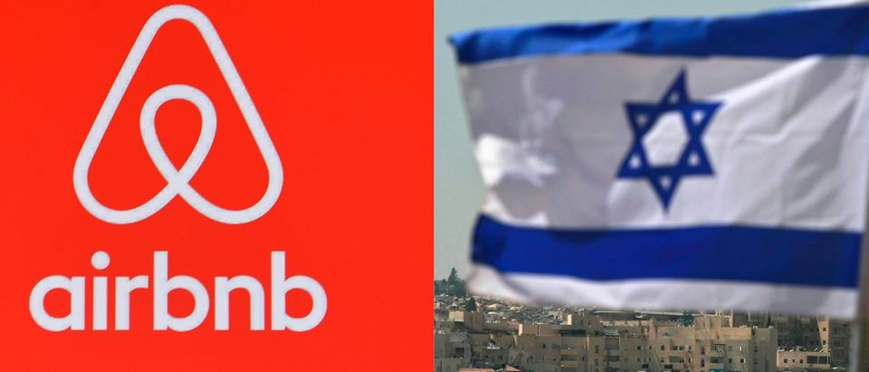 Airbnb Condemns BDS Movement, Stands By Boycott Of West Bank/ Getty Images Collage