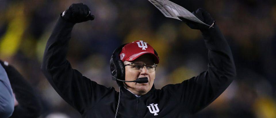 Indiana Coach Tom Allen