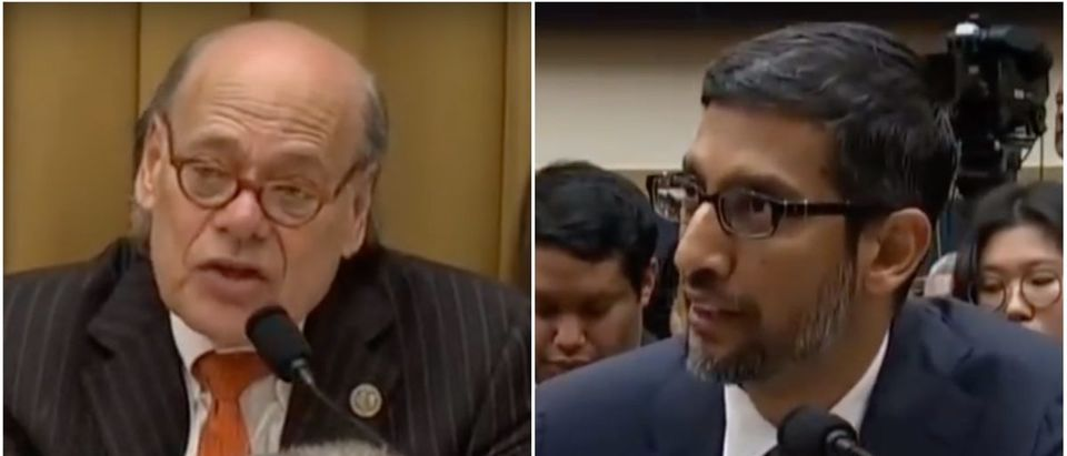 Rep. Steve Cohen Questions Google CEO Sundar Pichai (YouTube Screenshot: December 11, 2018)