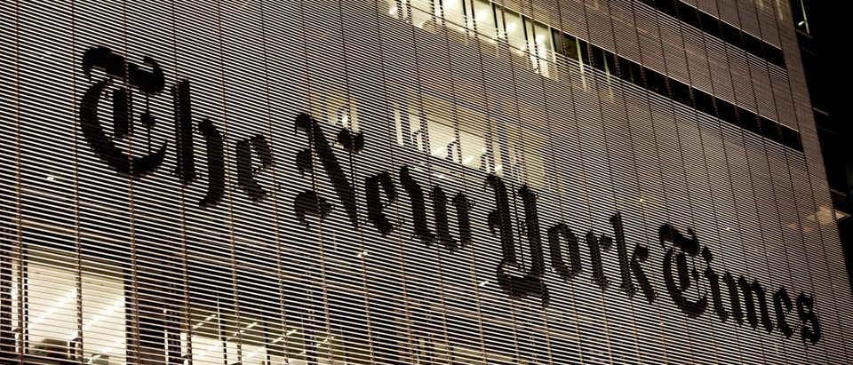 Main office of The New York Times. (Osugi/Shutterstock)