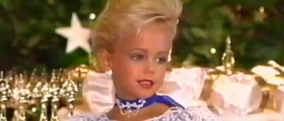 JonBenet Ramsey was killed in December 1996. YouTube screenshot/ 20/20 ABC