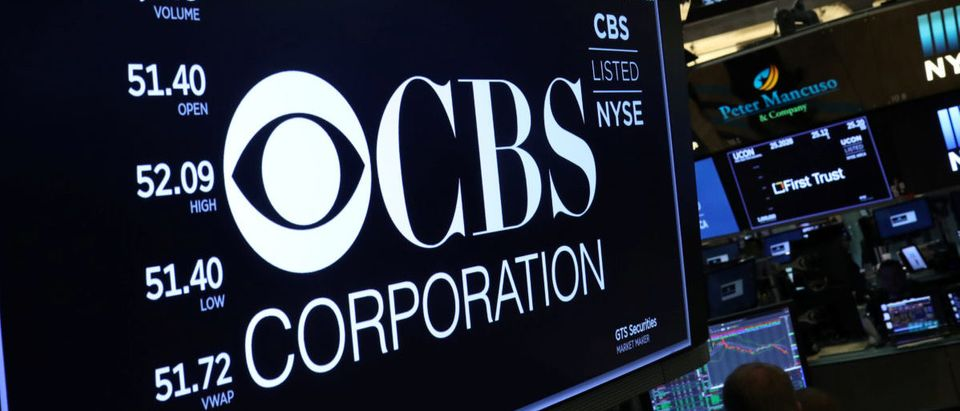 The price of CBS is shown on a board above the floor of the New York Stock Exchange shortly after the opening bell in New York, U.S., July 31, 2018. REUTERS/Lucas Jackson