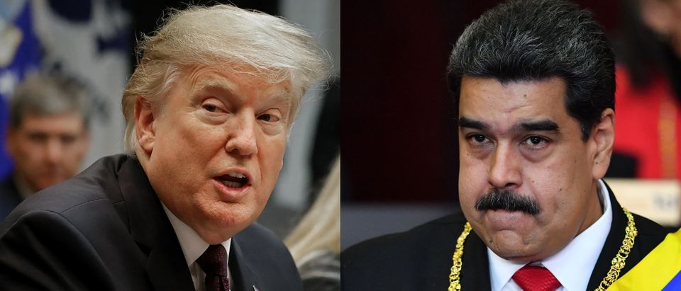 President Donald Trump no longer recognizes Venezuelan leader Nicolas Maduro. Chip Somodevilla/Getty Images and YURI CORTEZ/AFP/Getty Images