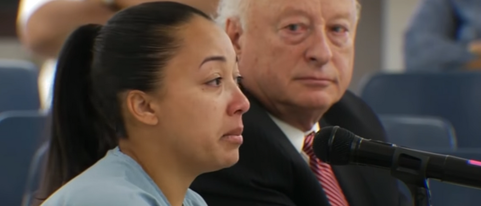 Cyntoia Brown granted clemency (screengrab)