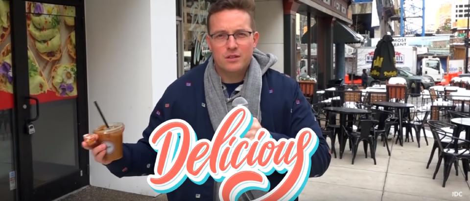Daily Caller Benny Johnson Shutdown Video