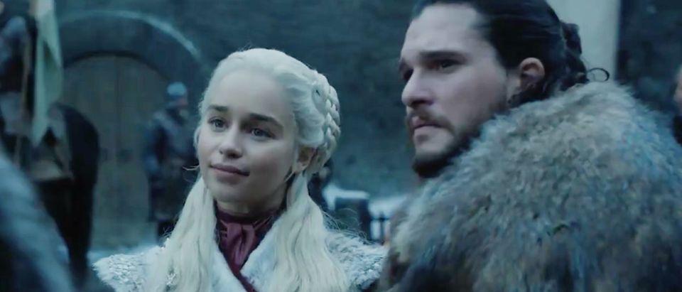 Game of Thrones season eight (Credit: Screenshot/Twitter Video https://twitter.com/GameOfThrones/status/1082097515196006401)