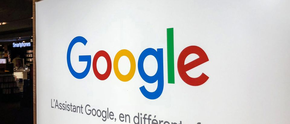 FRANCE-INTERNET-COMPANY-GOOGLE-LOGO