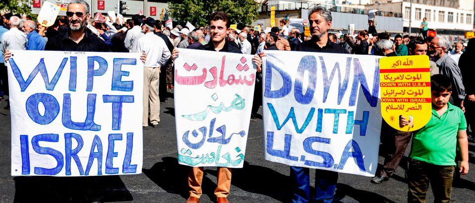 IRAN-US-ISRAEL-POLITICS-DEMO