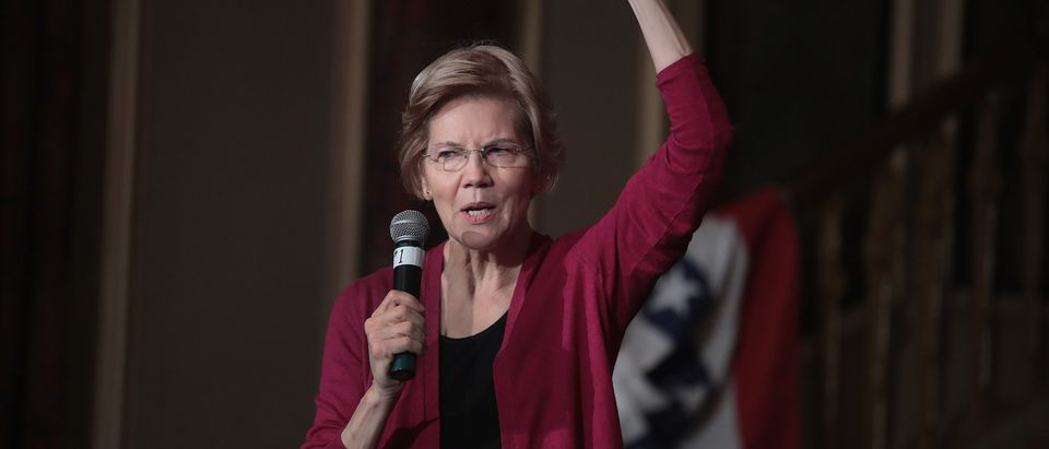 Sen. Elizabeth Warren (D-MA) Visits Iowa Shortly After Announcing A Presidential Exploratory Committee