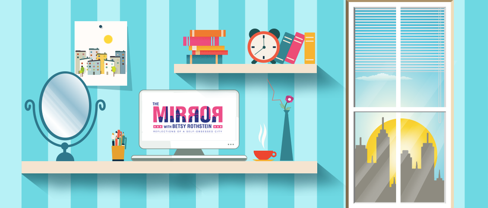 The Mirror graphic.