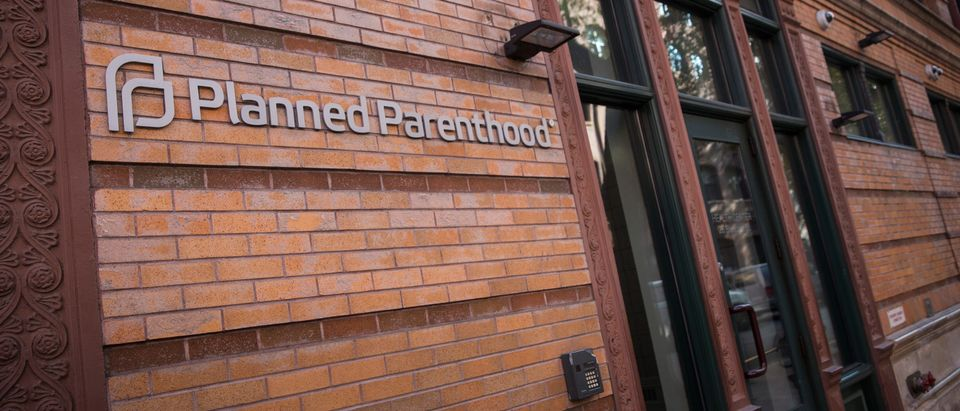 A Planned Parenthood office is seen on November 30, 2015 in New York City (Andrew Burton/Getty Images)