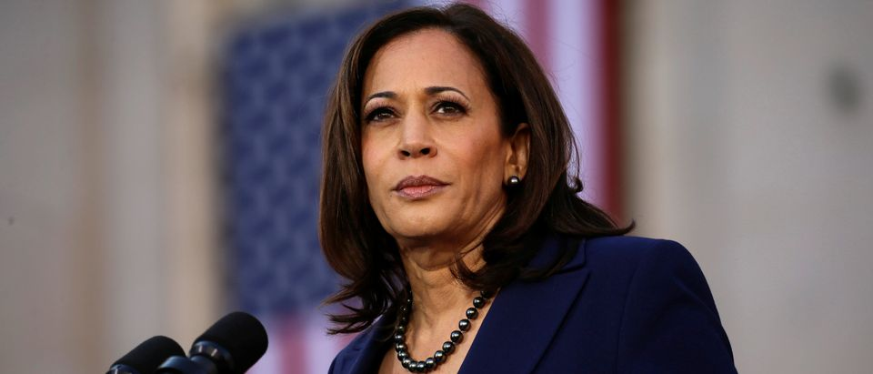 U.S. Senator Harris launches her campaign for U.S. president at a rally in Oakland