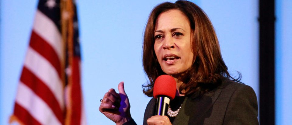 U.S. Senator Kamala Harris holds a town hall meeting in Sacramento