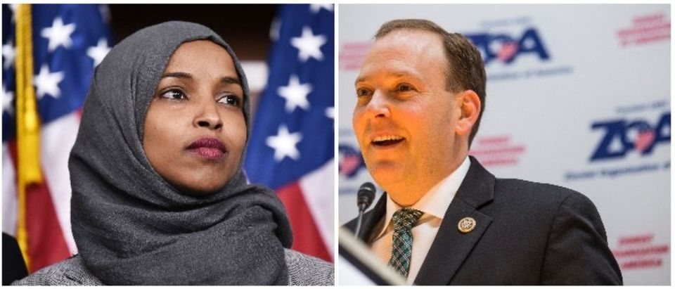 Rep. Illhan Omar and Rep. Lee Zeldin