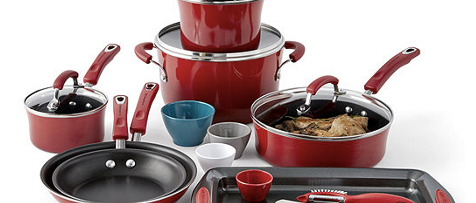 Normally $110, this cookware set is 73 percent off with the code (Photo via JC Penney)