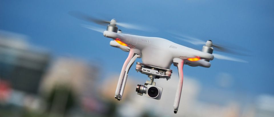 Pictured is a small drone. (Shutterstock/Dmitry Kalinovsky)