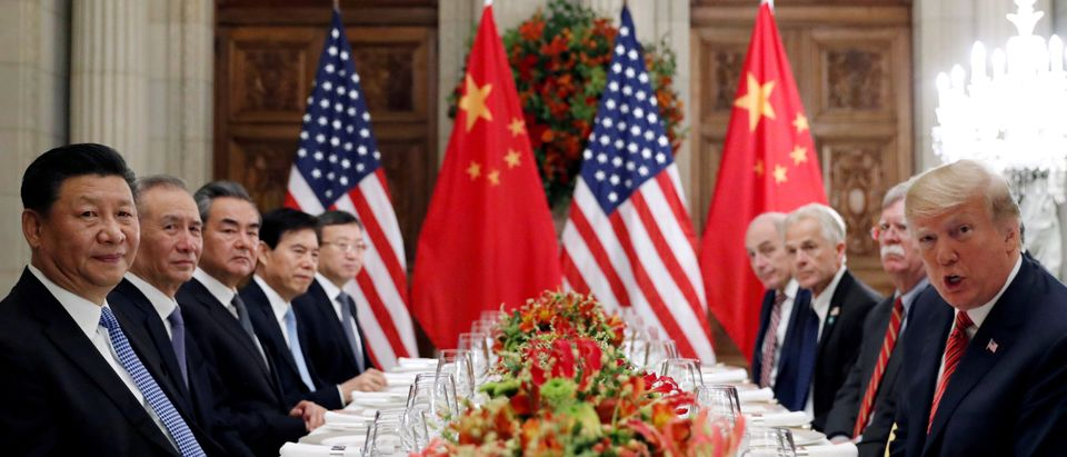 FILE PHOTO: FILE PHOTO: U.S. President Donald Trump and Chinese President Xi Jinping meet after the G20 in Buenos Aires