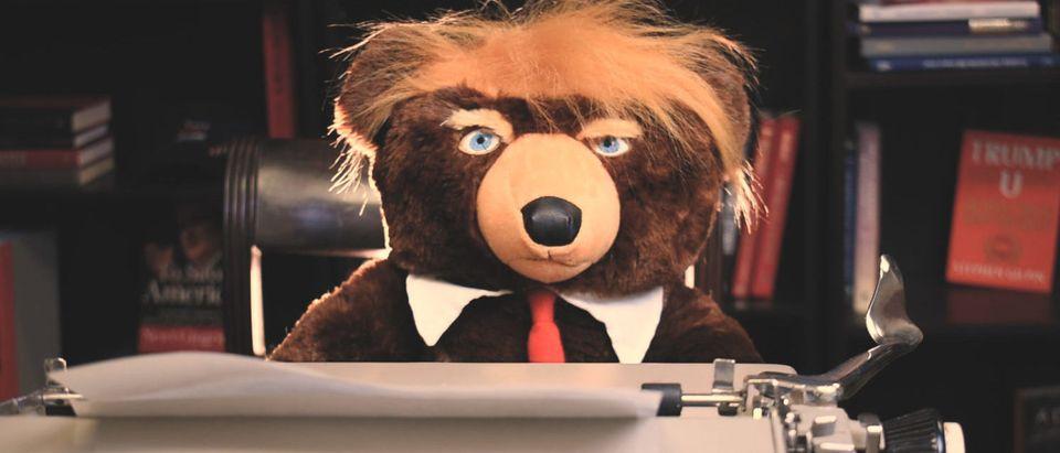 Trump Bear (YouTube Screenshot/TheDCNF)