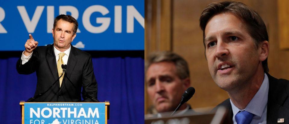 Sen. Ben Sasse and VA Gov Ralph Northam. Reuters/Aaron Bernstein