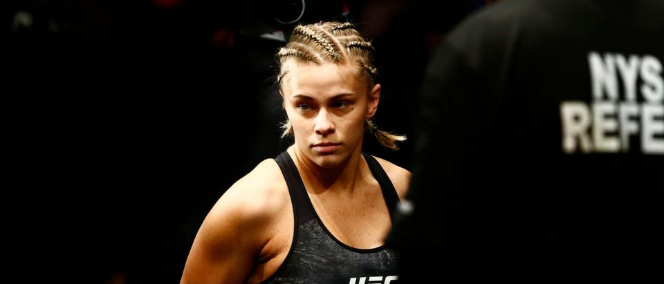 MMA: UFC Fight Night-Brooklyn-VanZant vs Ostovich (Mandatory Credit: Noah K. Murray-USA TODAY Sports - via Reuters)