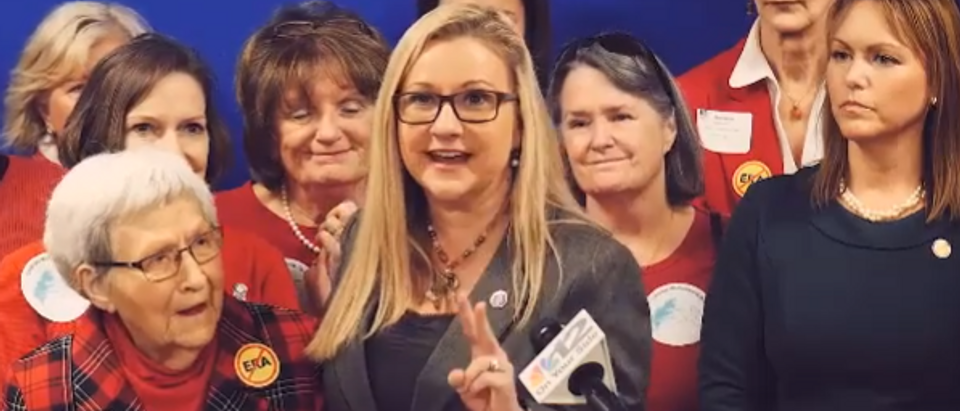 Virginia State Sen Amanda Chase (screengrab)
