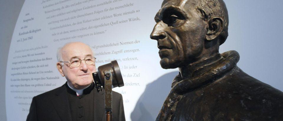 Walter Brandmueller, president of the po