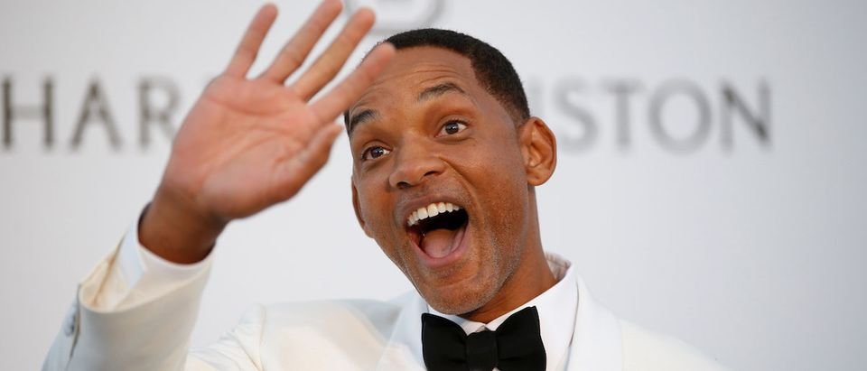 70th Cannes Film Festival ñ The amfAR's Cinema Against AIDS 2017 event Photocall Arrivals - Antibes, France. 25/05/2017. Jury member actor Will Smith poses. REUTERS/Stephane Mahe