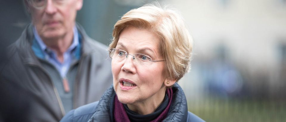 Sen. Elizabeth Warren Announces Possible Run For Presidency