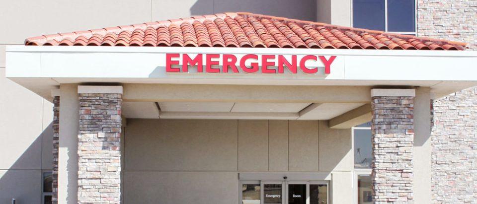 Emergency Hospital Entrance shutterstock_106417916