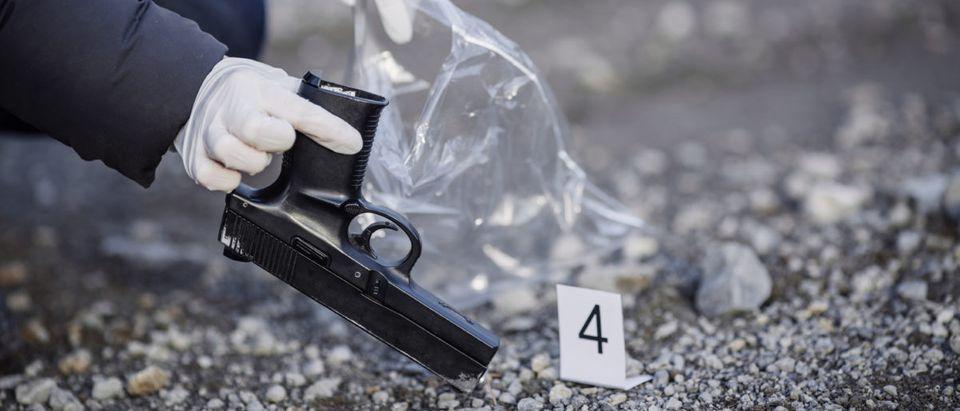 Washington, D.C., saw a spike in homicides in 2017. Shutterstock image via user PRESSLAB