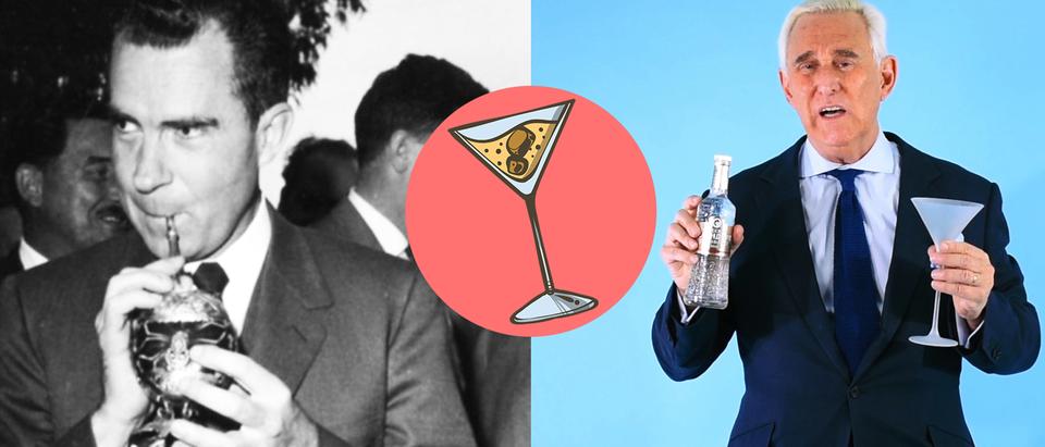 Roger Stone Reveals Nixon's Martini Recipe