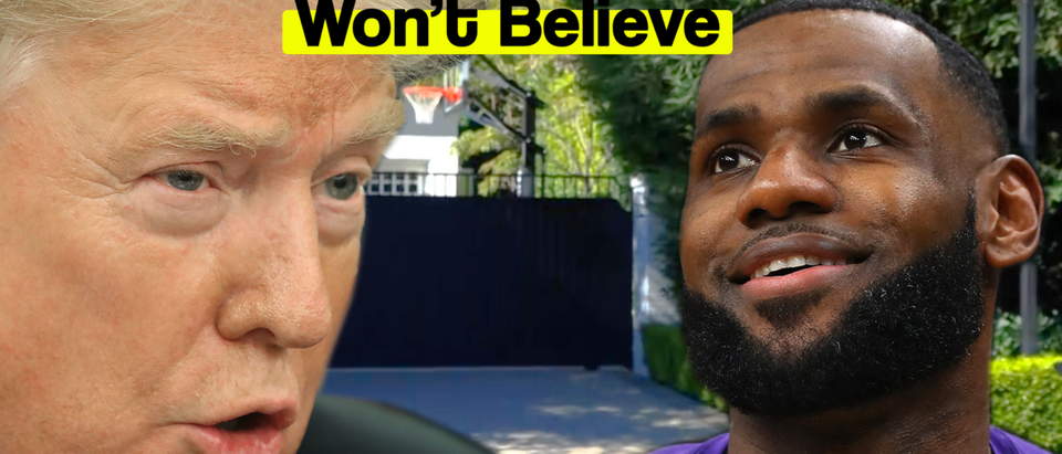 Lebron 'King' James' Castle Has A Wall You Won't Believe