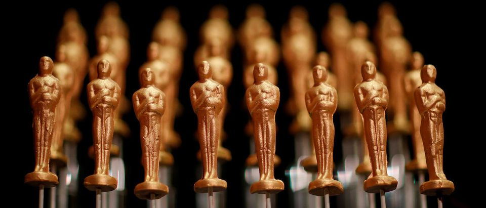 Oscar-shaped chocolates are presented during a media preview of this year's Academy's Governors Ball in Los Angeles, California, U.S., February 15, 2019. REUTERS/Mario Anzuoni