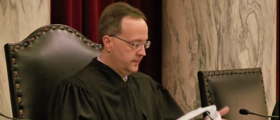 Former West Virginia Supreme Court Justice Allen Loughry. (Screenshot/WTRF 7News)