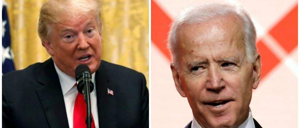 Biden speaks at United States Conference of Mayors and Trump talks (Reuters)
