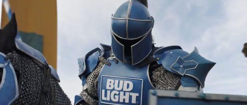 Bud Light Commercial (Credit: Screenshot/Twitter Video https://twitter.com/budlight/status/1092269815144828929?ref_src=twsrc%5Etfw)