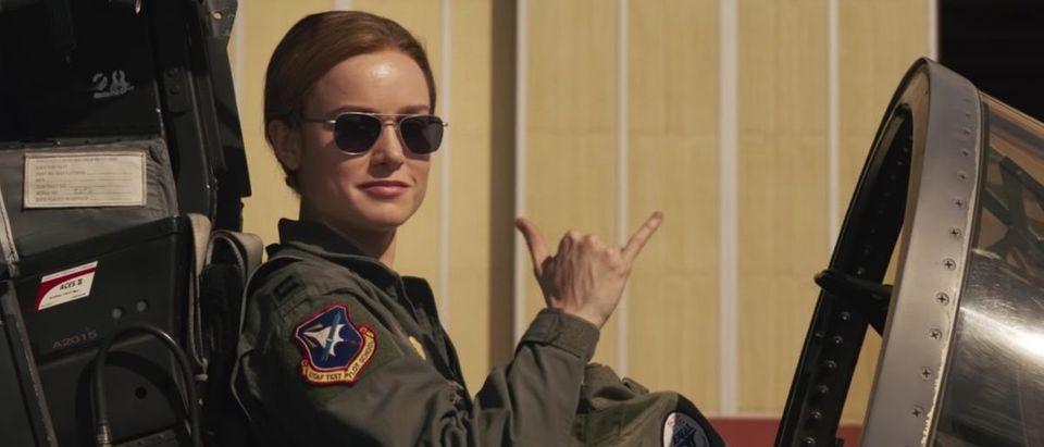 Captain Marvel (Credit: Screenshot/YouTube https://www.youtube.com/watch?v=0LHxvxdRnYc)