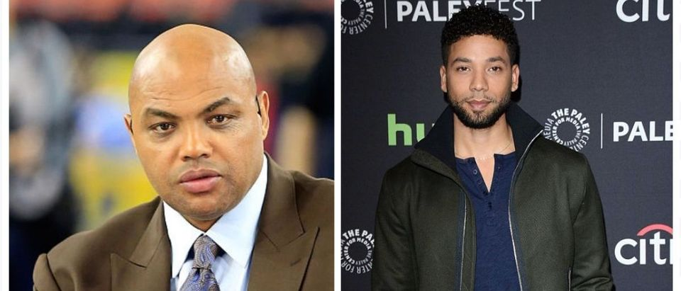 Charles Barkley, Jussie Smollett (Credit: Getty Images)