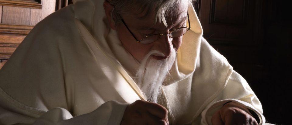 A Christian Monk (Shutterstock/Anneka)