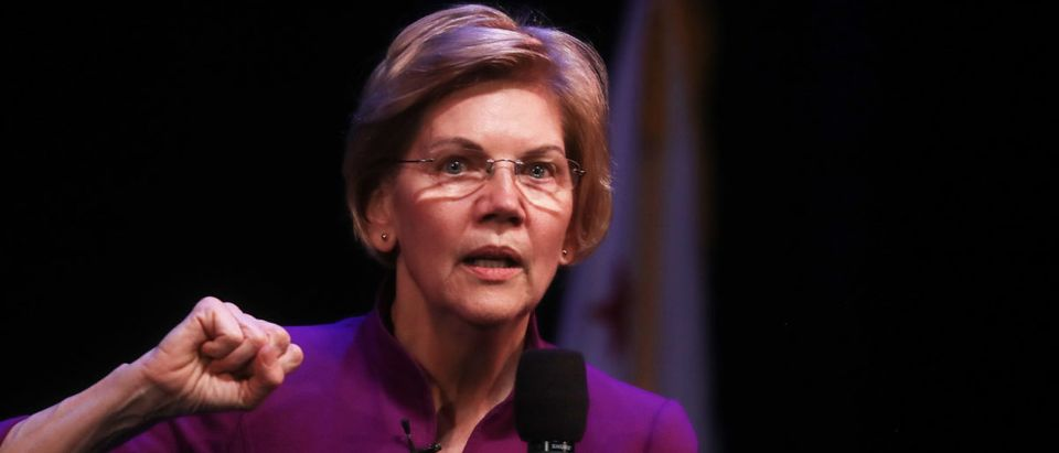Elizabeth Warren Brings Her Presidential Campaign To Southern California