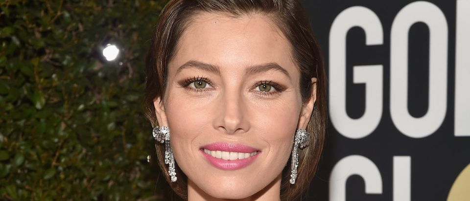 Actor Jessica Biel attends The 75th Annual Golden Globe Awards at The Beverly Hilton Hotel on January 7, 2018 in Beverly Hills, California. (Photo by Alberto E. Rodriguez/Getty Images)
