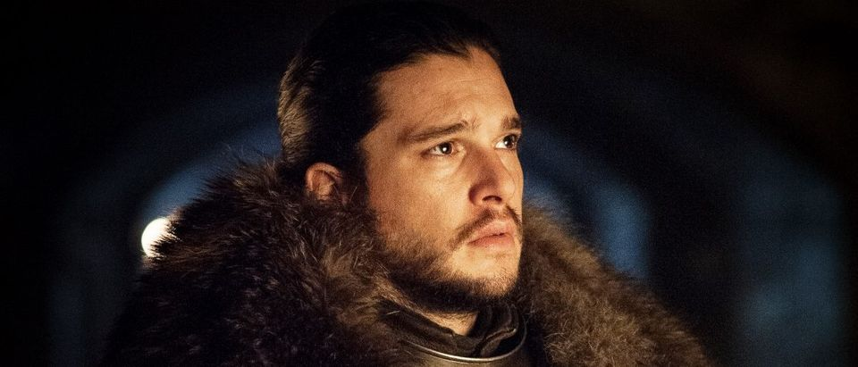 Game of Thrones, Jon Snow (Credit: Helen Sloan/HBO)