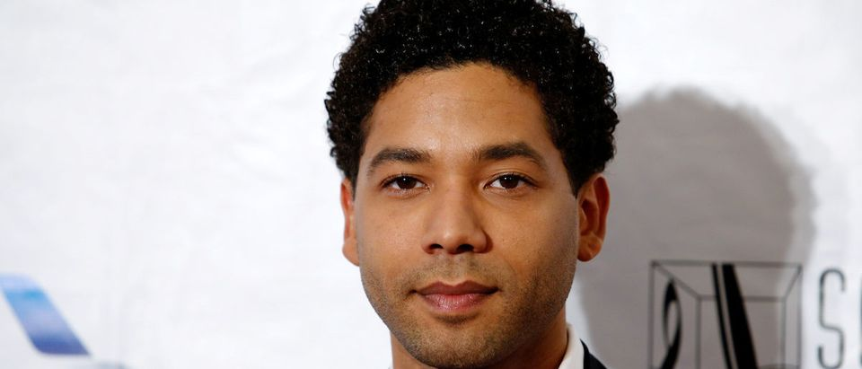 Singer Jussie Smollett poses on the red carpet before the 47th Songwriters Hall of Fame ceremony in New York June 9, 2016. REUTERS/Eduardo Munoz
