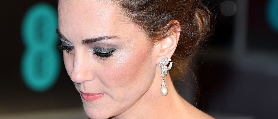 Catherine, Duchess of Cambridge attends the EE British Academy Film Awards at Royal Albert Hall on February 10, 2019 in London, England. (Photo by Pascal Le Segretain/Getty Images)